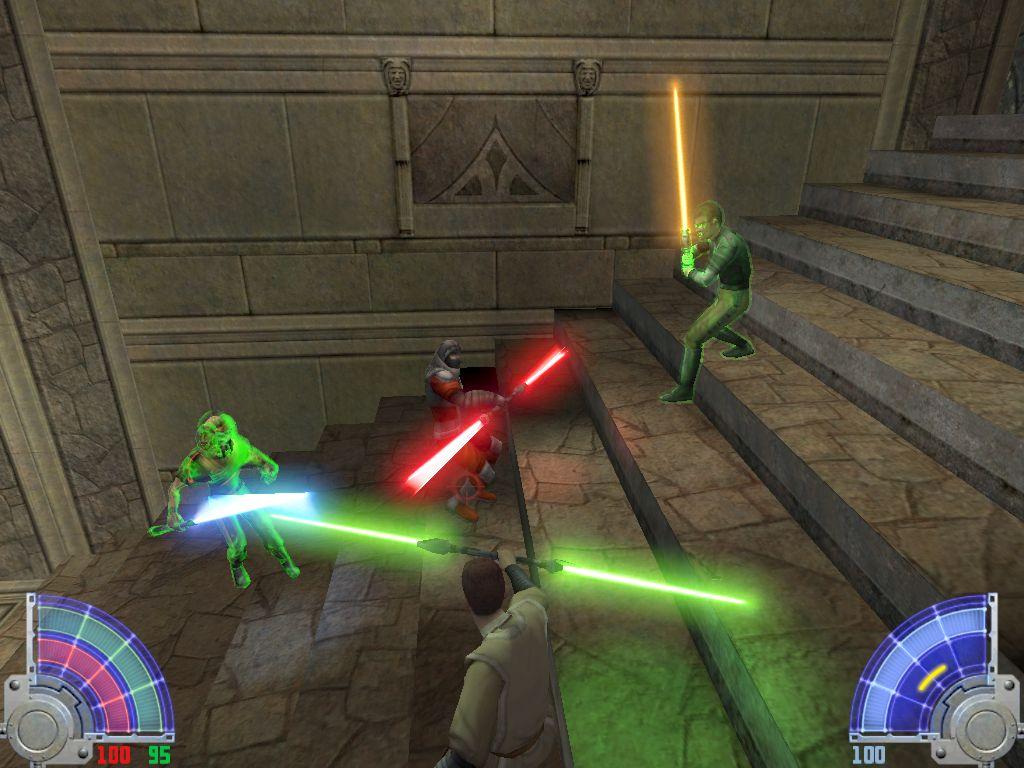 Jedi Academy Вылетает Игра